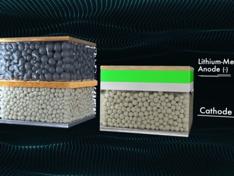 conventional and solid state batteries (Quantumscape)